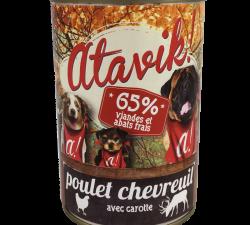 patee-pour-chien-atavik-poulet-chevreuil